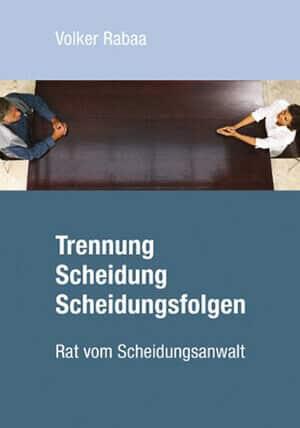 Buch Cover Trennung Scheidung Scheidungsfolgen