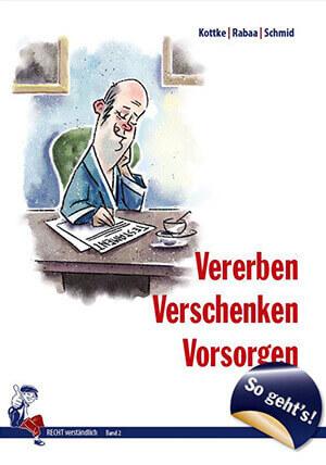 Buch Cover Vererben Verschenken Vorsorgen