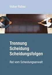 Buchcover zu Trennung, Scheidung, Scheidungsfolgen