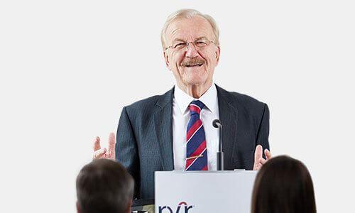Referent Recht erfahren Rechtsanwalt Dr. Volker Rabaa