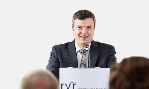 Referent Recht erfahren Rechtsanwalt Gerhard Schmid