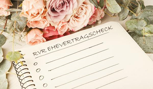 Der RVR-Ehevertragscheck