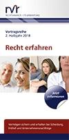 """RVR Rechtsanwälte - Broschüre Vortragsreihe """"Recht erfahren"""""""