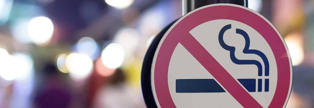 Rauchverbot Schild